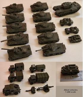 1:200二战坦克和军车(第一弹)
